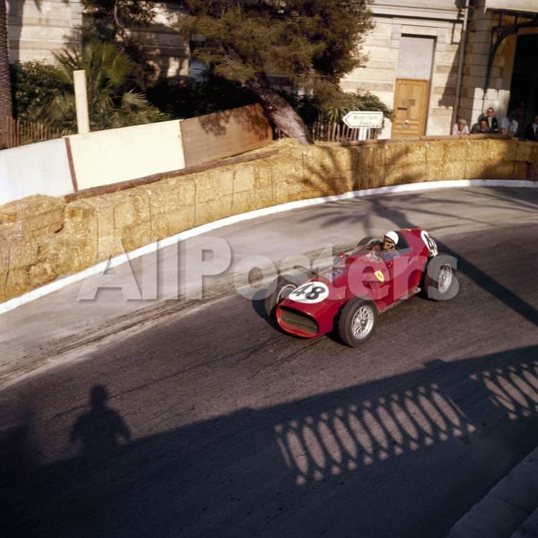 Phill Hill Racing A Ferrari D246 Monaco Grand Prix Monte Carlo 1959 Photographic Print Allposters Com