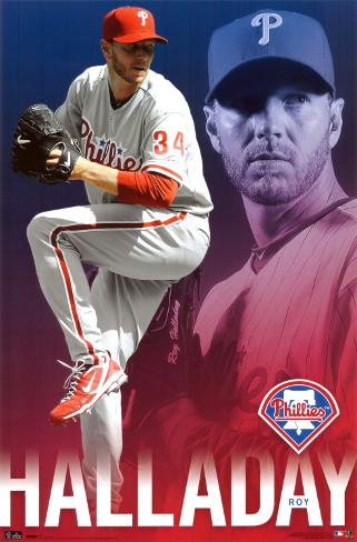 Phillies - R Halladay 10 Poster