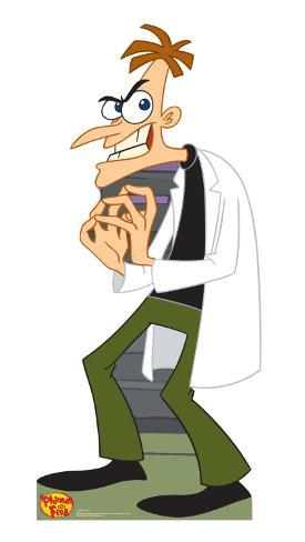 Phineas and Ferb - Dr. Doofensmirtz Cardboard Cutouts