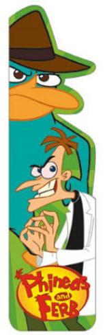 Phineas and Ferb Perry Heinz TV Bookmark Bookmark