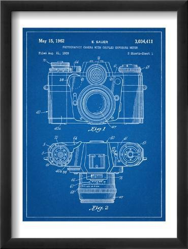 Photographic Camera Framed Art Print