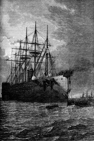 Picking Up the Atlantic Cable, 1866 Giclee Print