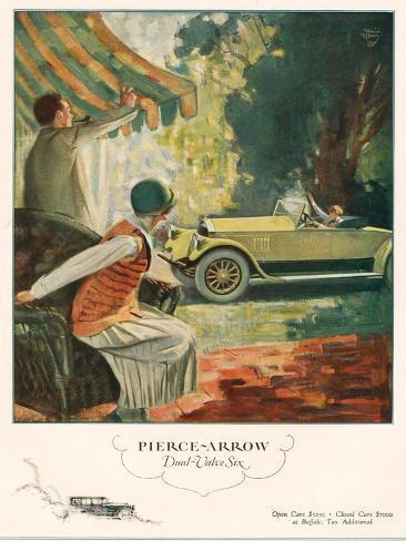 Pierce Arrow, Magazine Advertisement, USA, 1925 Giclee Print