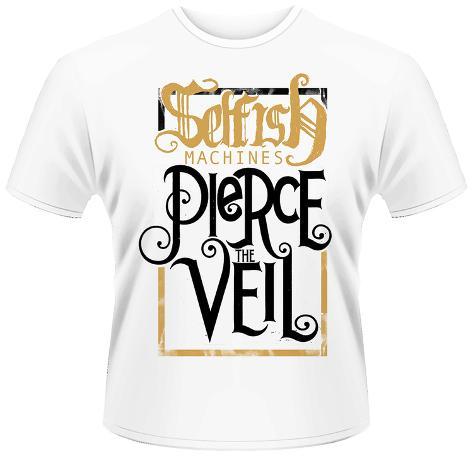 pierce the veil selfish machines tshirt allposterscouk