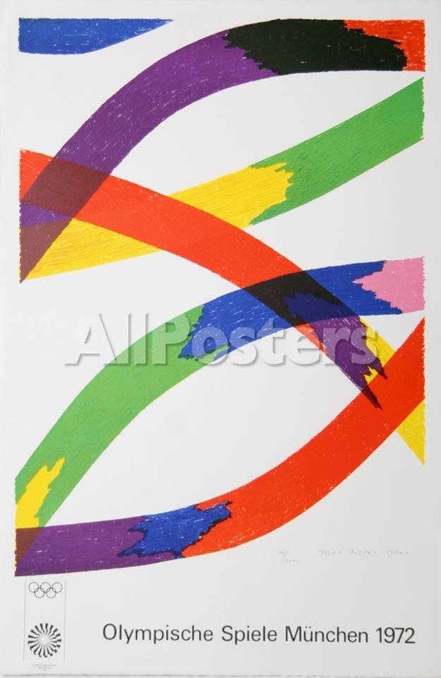 Olympische Spiele Munchen 1972 Collectable Print by Piero D\'Orazio ...