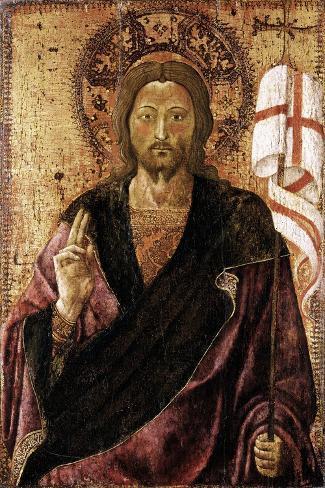 Der Auferstandene Christus Stretched Canvas Print