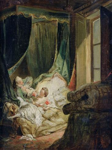 Study for the Indiscreet Bride Giclee Print