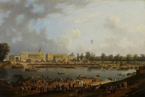 Place De La Concorde, C.1783 Giclee Print
