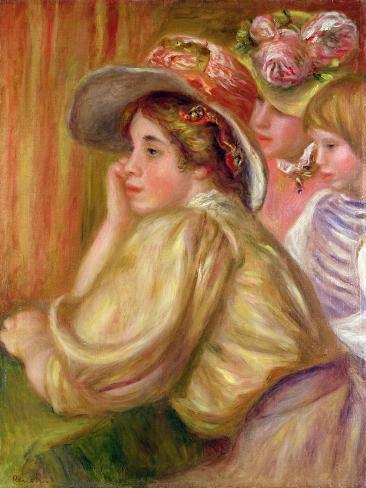 Coco and the Two Servants, 1910 Lámina giclée
