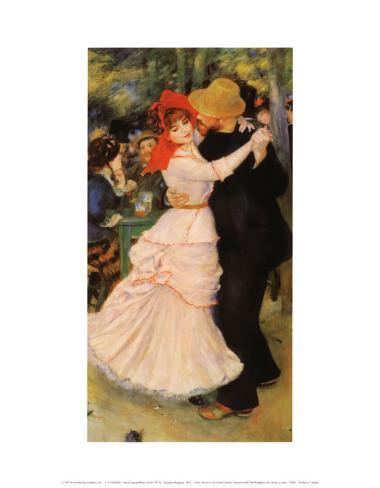 Dance at Bougival Art Print