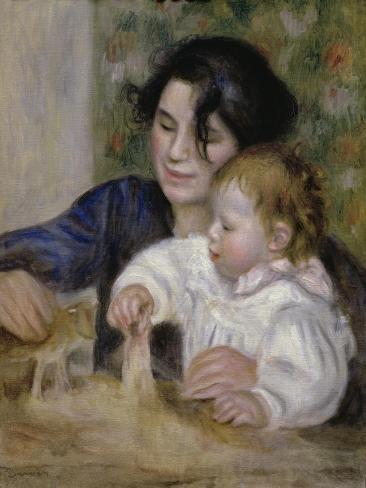 Gabrielle and Jean Giclee Print