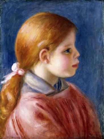 Head of a Young Girl, 1888 Impressão giclée