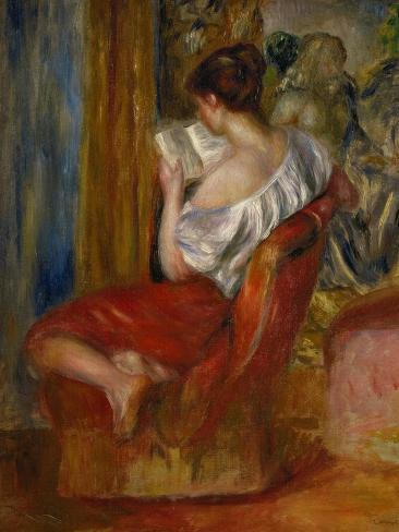 Reading Woman, circa 1900 Giclee Print