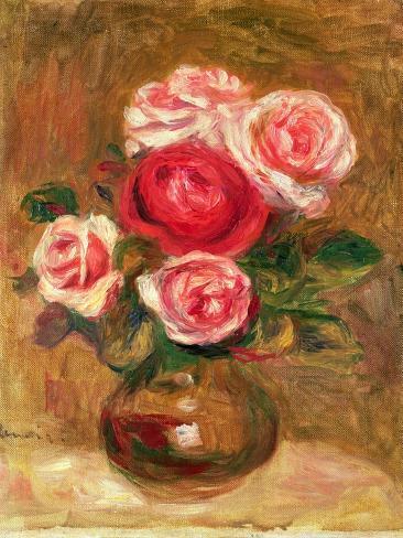 Roses in a Pot Lámina giclée