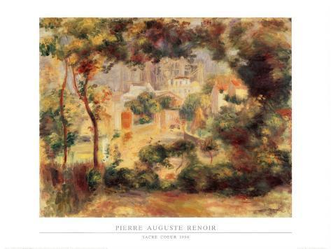 Sacre Coeur, 1896 Art Print