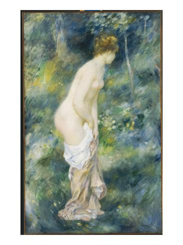 Standing Bather, 1887 Giclee Print