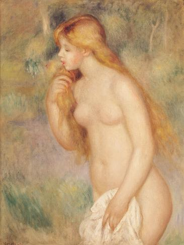 Standing Bather, 1896 Giclee Print