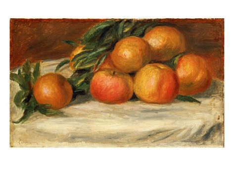 Still Life with Apples and Oranges, C.1901 Giclee Print