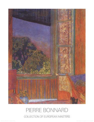 La fenetre ouverte 1921 posters por pierre bonnard na for La fenetre ouverte