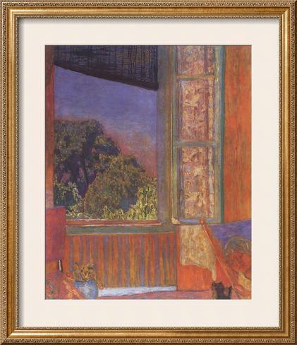 La fenetre ouverte 1921 prints by pierre bonnard for Fenetre ouverte