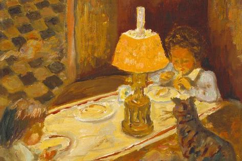 Les Dejeuner Des Enfants Lámina