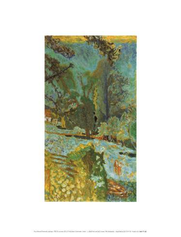 Normandy Landscape Framed Art Print