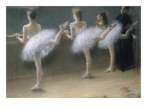 At the Barre, 1888 Lámina giclée