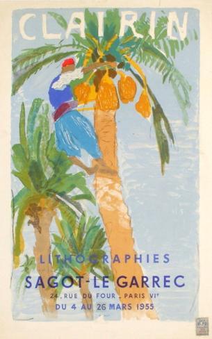 Expo 55 - Galerie Sagot-Le Garrec Lámina coleccionable