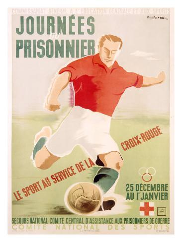 Journees du Prisonnier Giclee Print