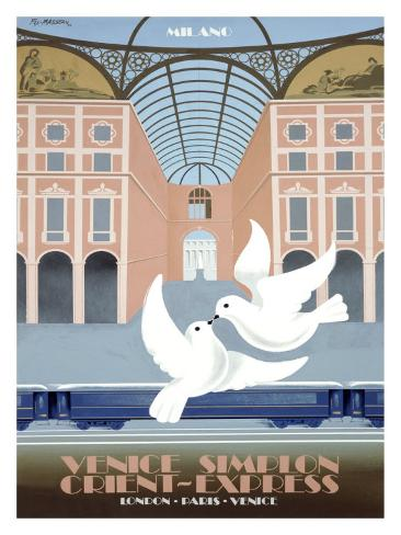 Milano Orient Express Giclee Print