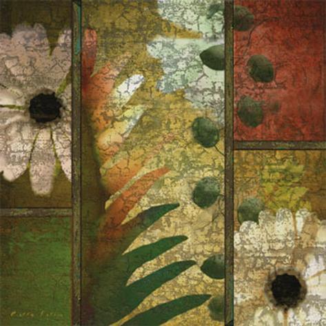 Floral Collage I Art Print