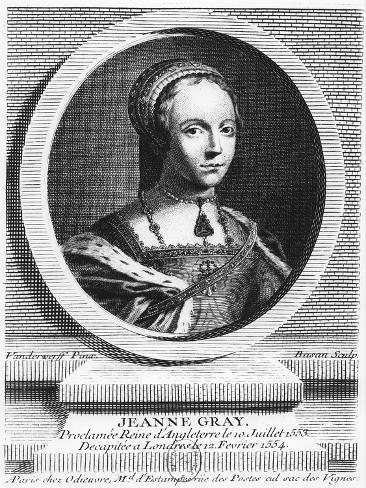 Lady Jane Grey Stampa giclée