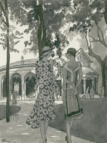 Vogue - June 1927 Stampa giclée premium
