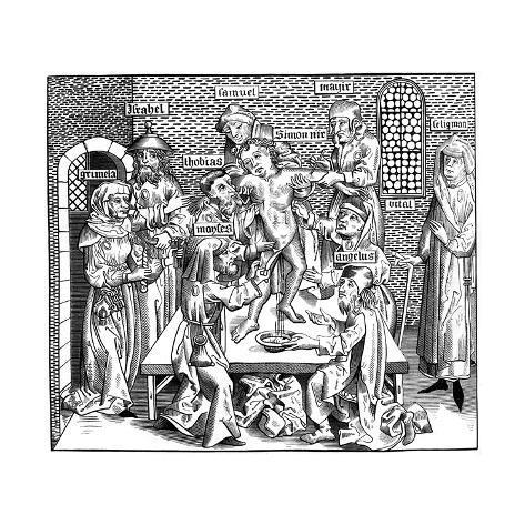 The Martyrdom of Simon of Trent, 1493 Lámina giclée