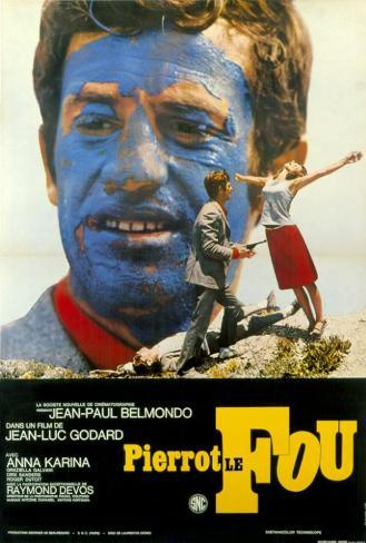 Pierrot Le Fou - Foreign Style Poster