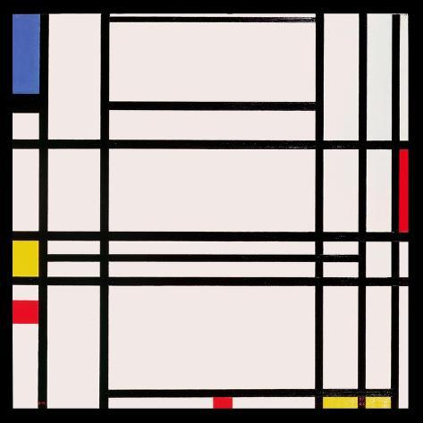 Composition No.10, 1939-42 Giclée-vedos
