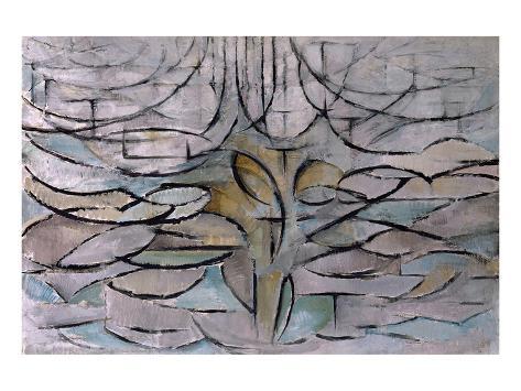 Flowering Apple Tree Lámina giclée prémium