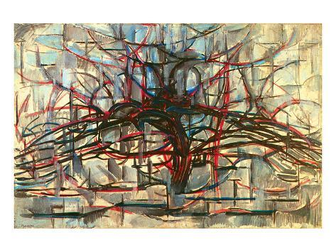 the Gray Tree 1912 Lámina