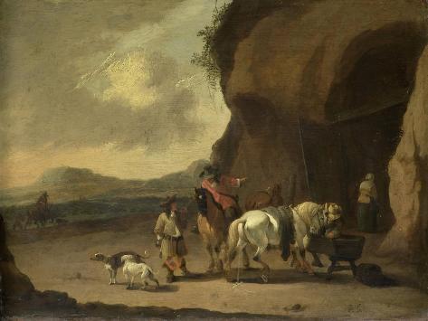 Way Station, Pieter Bout Art Print