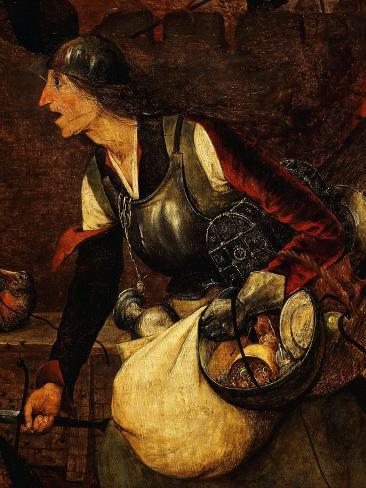 Dulle Griet (Mad Meg), C. 1562 (Central Detail) Stampa giclée