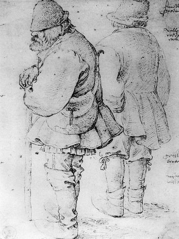 Studies of Peasants, 1913 Giclee Print