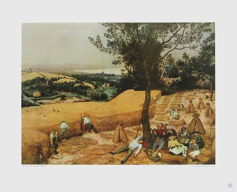 Summer, The Harvesters Collectable Print