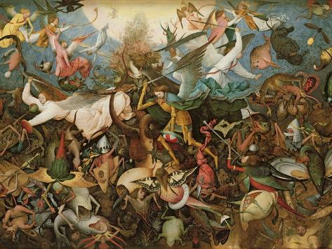 The Fall of the Rebel Angels, 1562 Giclee Print