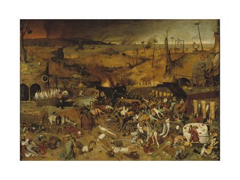 The Triumph of Death, Ca 1562-1563 Lámina giclée