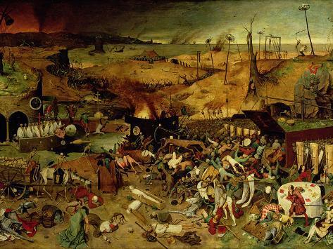 The Triumph of Death, circa 1562 Giclee Print