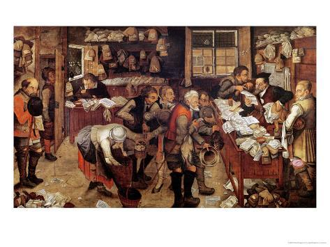 The Village Lawyer, 1621 Giclee Print