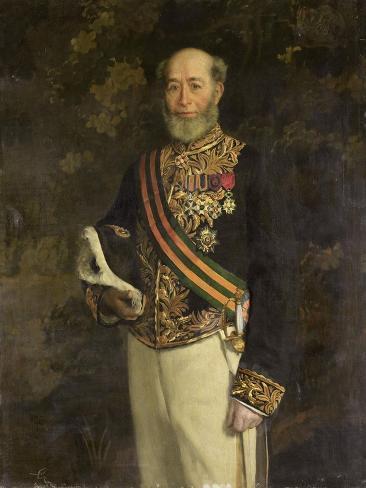 Frederik Jacob Gouverneur-Generaal Art Print