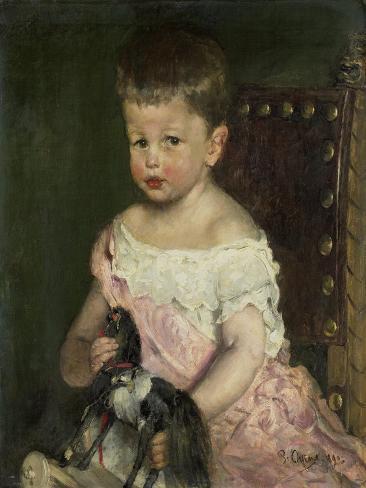 Hendrik Waller Op Driejarige Leeftijd Art Print