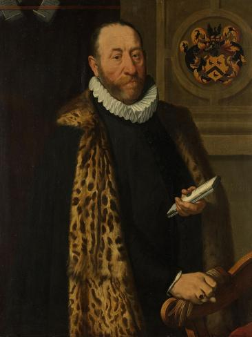 Portrait of Mattheus Augustijnsz Steyn Art Print