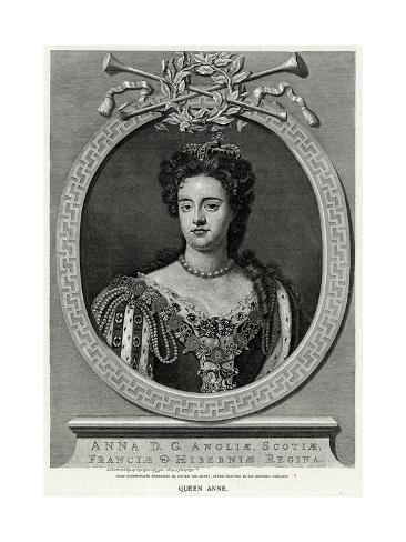 Queen Anne, Van Gunst Stampa giclée